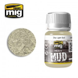 PEINTURE HEAVY MUD - DRY LIGHT SOIL - MIG AMMO 1700