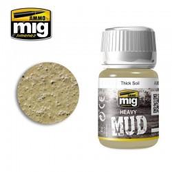 PEINTURE HAEVY MUD - THICK SOIL - MIG AMMO 1701