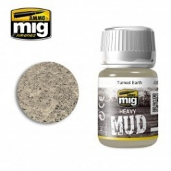 PEINTURE HAEVY MUD - TURNED EARTH - MIG AMMO 1702