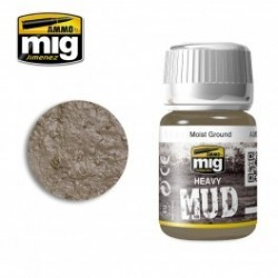 PEINTURE HAEVY MUD - MOIST GROUND - MIG AMMO 1703
