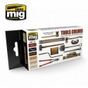 MAQUETTE SET PEINTURE MIG 7112 - TOOLS COLORS