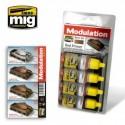 MAQUETTE PEINTURE - MODULATION SET MIG 7002 - RED PRIMER