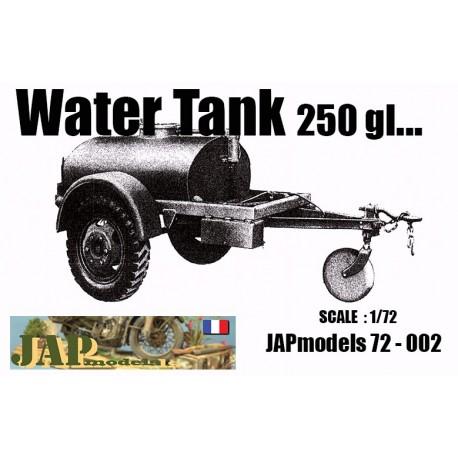 MAQUETTE RESINE JAPMODELS - WATER TANK 250gl - ECH 1/72 - WWII - US - DODGE GMC HT JEEP