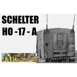MAQUETTE RESINE JAPMODELS - SCHELTER HO -17 A - ECH 1/72 - WWII - US - DODGE GMC HT JEEP