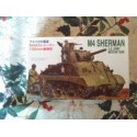 MAQUETTE FUJIMI - SHERMAN M4 A3 - US ARMY -ECH 1/76- REF 762203- SHERMAN US - WWII -