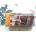 PEINTURE AK - Old & Weathered wood - Volume 1