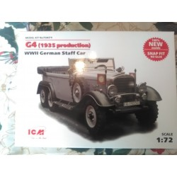 MAQUETTE ICM - G4 - 1935 - ECH 1/72 -- GERMAN STAFF CAR - WWII