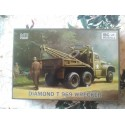 MAQUETTE IBG MODELS - DIAMOND T 969 WRECKER - DEPANNAGE US - ECH 1/72 - WWII DODGE JEEP GMC US
