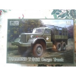MAQUETTE IBG MODELS - DIAMOND T 968 CARGO TRUCK - 72019 US - ECH 1/72 - WWII DODGE JEEP GMC US