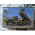 MAQUETTE IBG MODELS - DIAMOND T 972 DUMP TRUCK - 72021US - ECH 1/72 - WWII DODGE JEEP GMC US