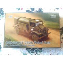 MAQUETTE IBG MODELS - CHEVROLET C60S PETROL TANK - 2 VERSIONS - 35036 - ECH 1/35 - WWII DODGE JEEP GMC US