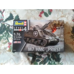 MAQUETTE REVELL - M7 PRIEST HMC - 03216 - ECH 1/76 - WWII - 2DB US